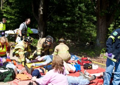 2011 Mass Casualty Drill 350
