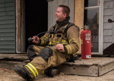 43 Deputy Chief Cole Taking a Break